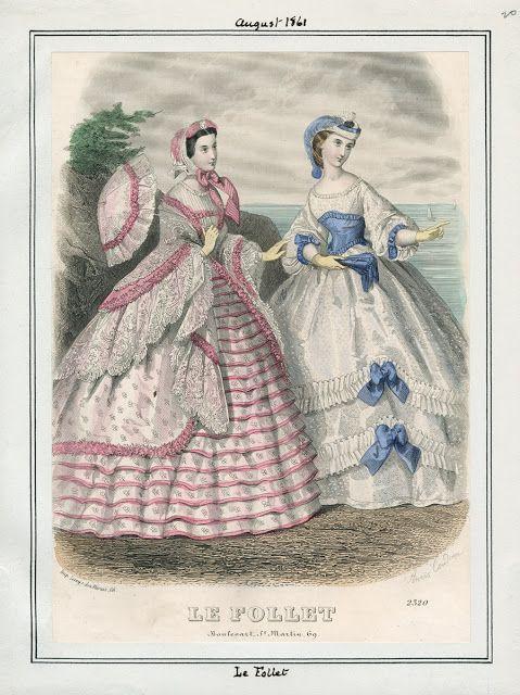 Le Follet, August 1861